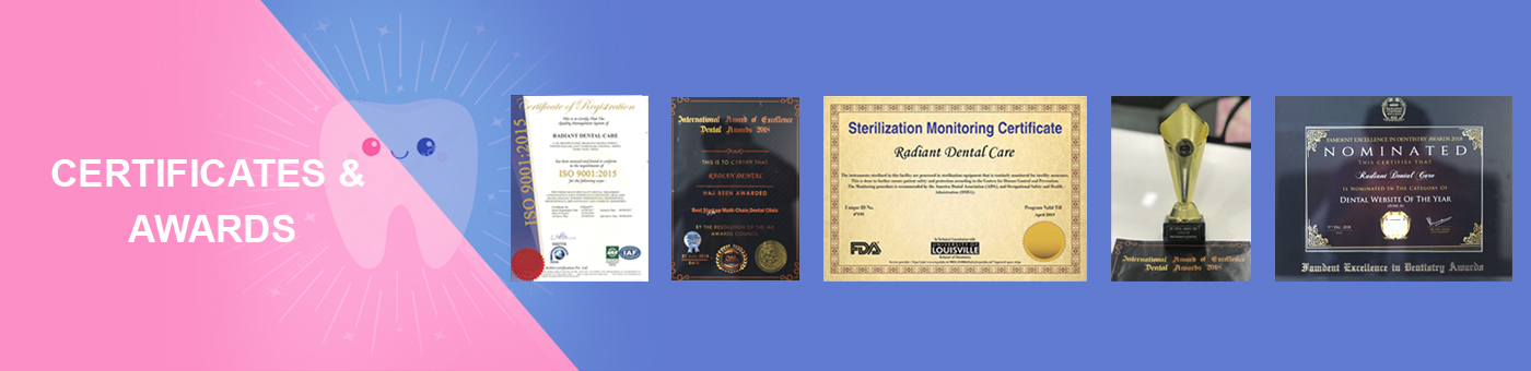 certifications awards